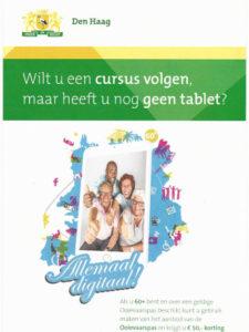 Elke Dinsdag Digitaliseren voor Senioren @ Wijkcentrun de Regenvalk | Den Haag | Zuid-Holland | Nederland
